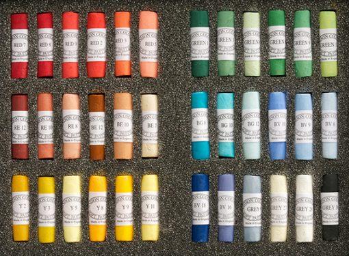 Unison Colour Soft Pastels - Set 36 Starter