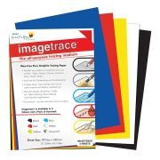 Imagetrace Pure Graphite Tracing Paper - Assorted A3