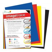 Imagetrace Pure Graphite Tracing Paper - Assorted A4