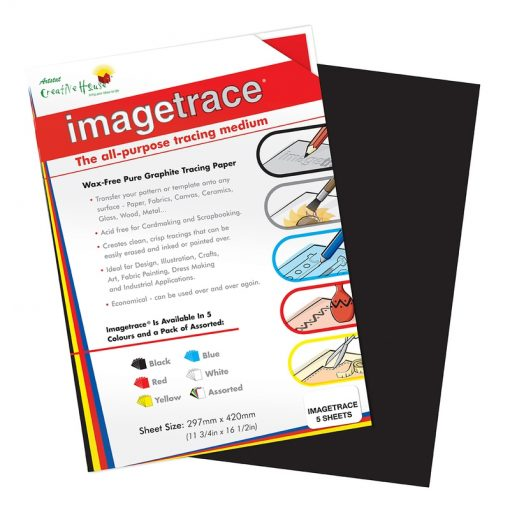 Imagetrace Pure Graphite Tracing Paper Black A3