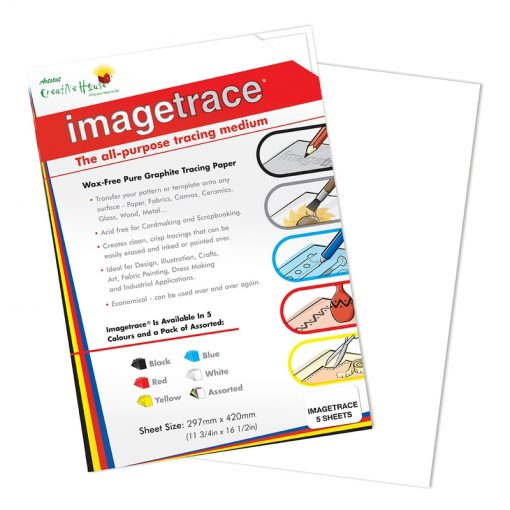 Imagetrace Pure Graphite Tracing Paper - White A3