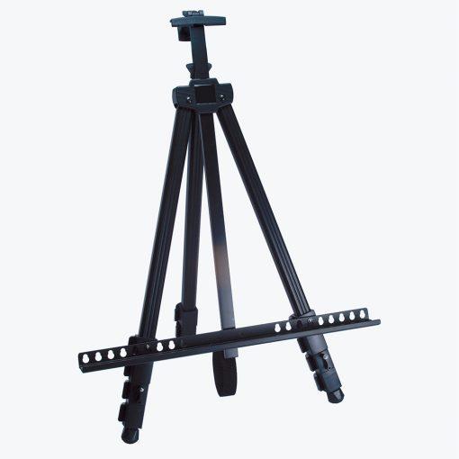 Aluminium telescopic easel