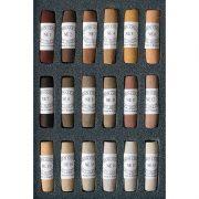 Unison Colour Soft Pastel Set 18 Natural Earth