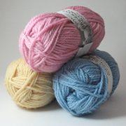 Aran Wool Yarns Plain Dyed
