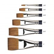 Artists Water Colour Sable One Stroke Brushes