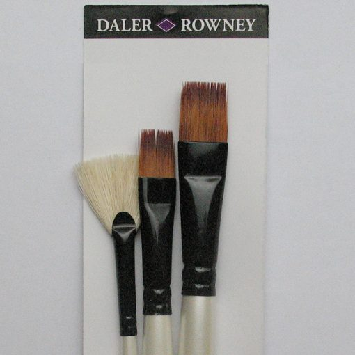 Graduate Natural & Synthetic Selection 3 Brush set
