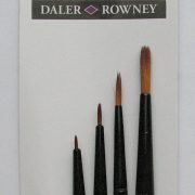 Graduate All Purpose Synthetic Detail Brush set 4