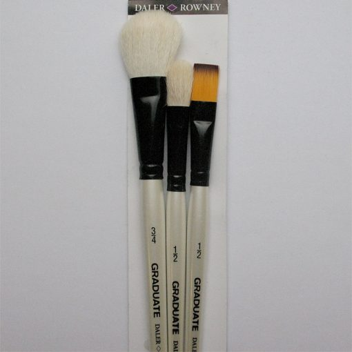 Graduate Natural & Synthetic Watercolour brush set