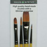 System 3 Brush Wallet 400 - 4 brushes
