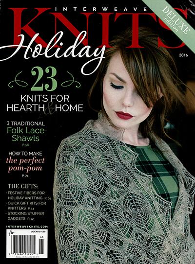 Interweave Knits Holiday Magazine 2016