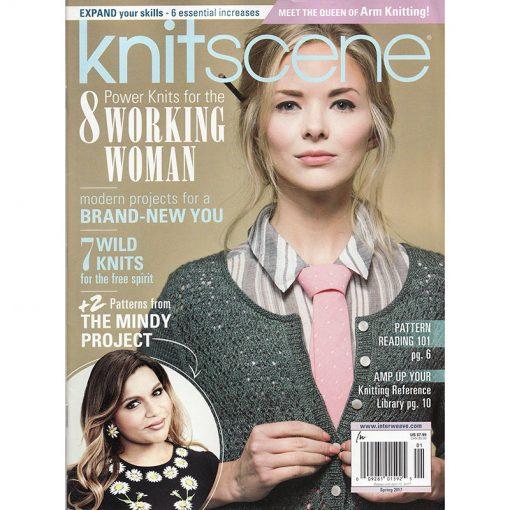 Interweave Knitscene Magazine Spring 2017