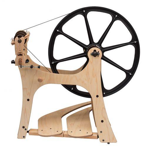 The Schacht FlatIron Spinning wheel