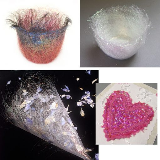 Things to make with Angelina fibre