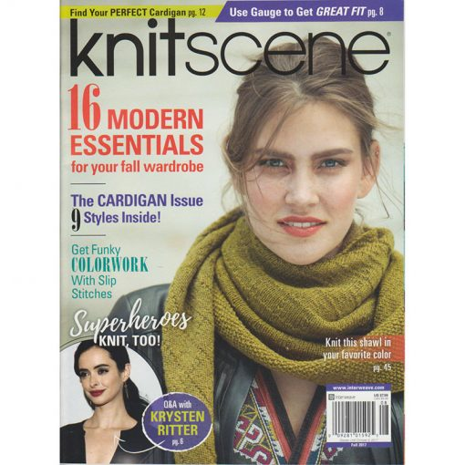 Interweave Knitscene - Fall 2017
