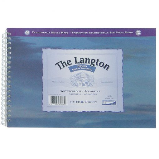 Langton Rough Watercolour Paper Spirals