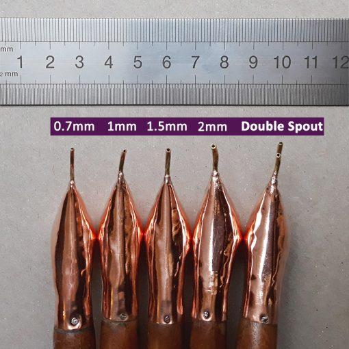 Java Tjanting - 1.5mm double spout