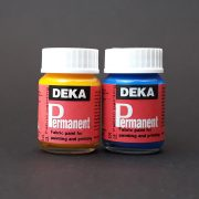 Deka Permanent Fabric Paints, 25ml