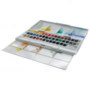 Cotman Water Colour 45 Half Pan Studio Set