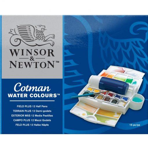 Cotman Water Colour Field Plus 12 Half Pans