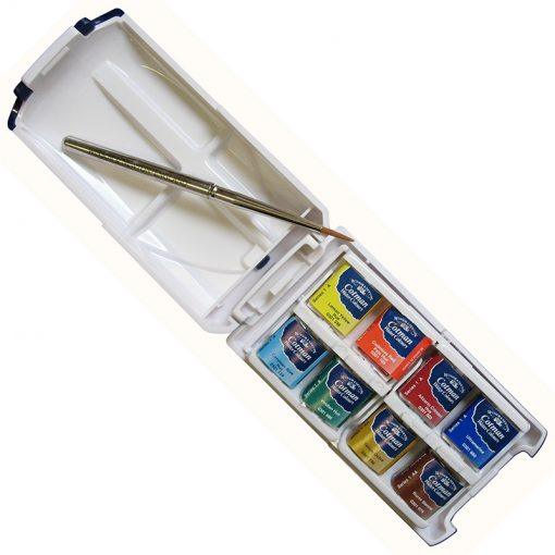 Cotman Water Colour Mini Plus 8 Half Pans