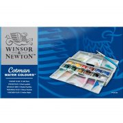 Cotman Water Colour Pocket Plus 12 Half Pans
