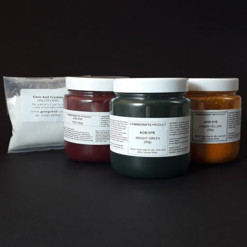 Acid dyes for silk and wool