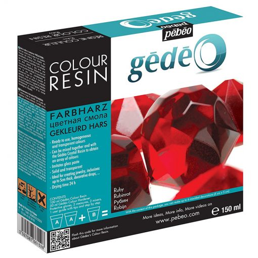 Gedeo Colour Resin - Ruby Red