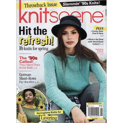 Interweave Knitscene Magazine - Spring 2018