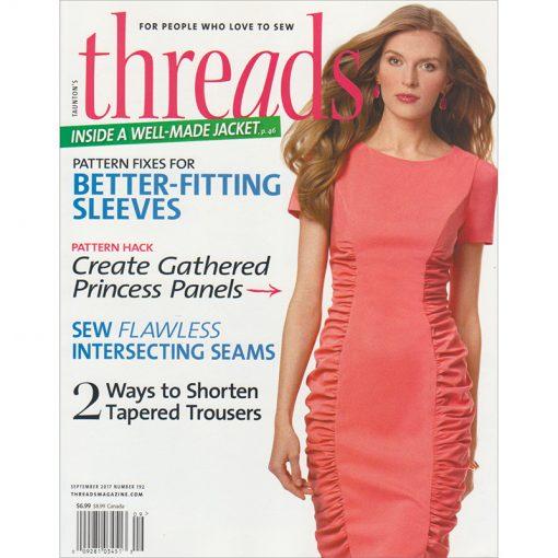 Threads Magazine September 2017 Number 192