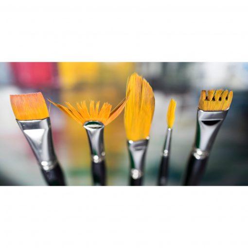 Comb brush and sword - Derwent Technique Brushes Set