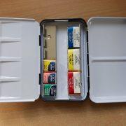 Tin for watercolour pan