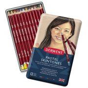 Derwent Pastel Pencils Skintones - Tin of 12