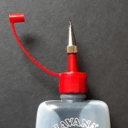50ml bottle with 0.6mm screw nib attached