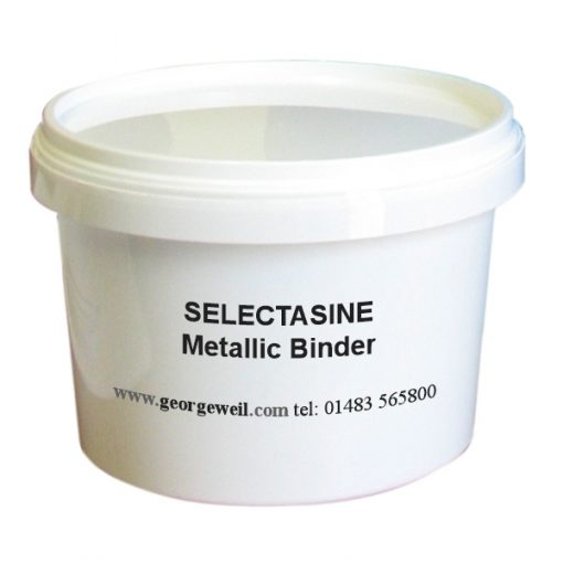 Selectasine Metallic Binder for screen printing