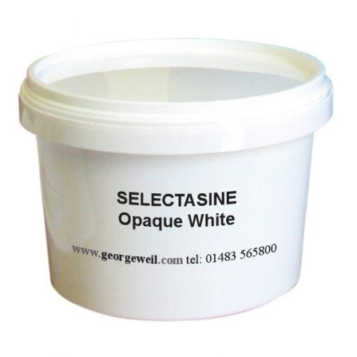 Selectasine Opaque White T, 3 sizes