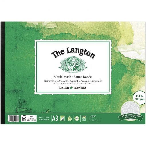 Langton Watercolour Pads NOT Surface