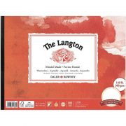 Langton Watercolour Pads Hot Pressed Surface