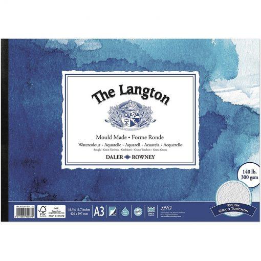 Langton Watercolour Pads Rough Surface