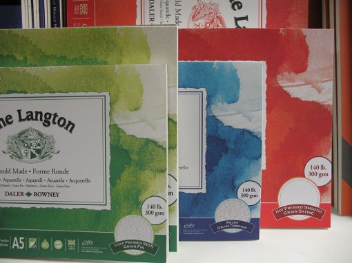 Daler Rowney Langton Watercolour Pads