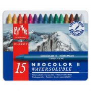 Caran d'Ache Neocolor II Wax Pastels Tin 15