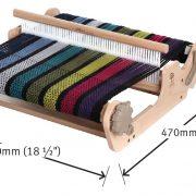 Ashford SampleIt Loom 16in dimensions