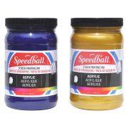 Speedball Acrylic Screen Printing Inks, 944ml