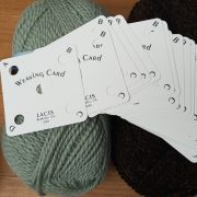 Band weaving cards