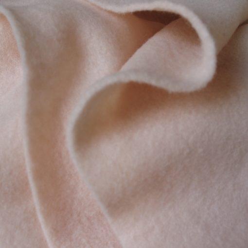 Merino Prefelt Fabric 21 mic - Flesh 1/2 metre