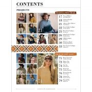 Interweave Knits Summer 2018 contents page