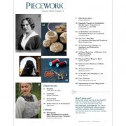 Piecework Magazine May / June 2018 contents