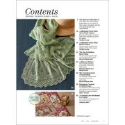 Piecework Fall 2018 contents page