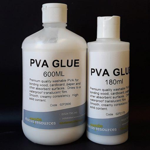 Abacus PVA Glue 180ml and 600ml