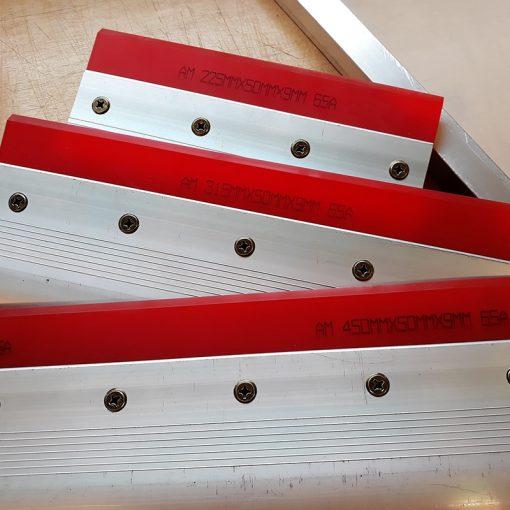 Lightweight Squeegees with 65 durometer blades