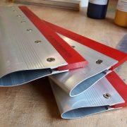 65 durometer squeegee with aluminium handle